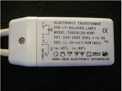 Transformator Modell T60CB © Lampenoutlet Hannover